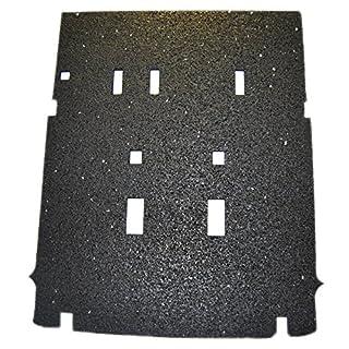 aruma® Antirutschmatte Kofferraummatte bis vordere Sitzreihe, 7 Sitzer, original Zurrösen nutzbar, Bj:10/2010-xx