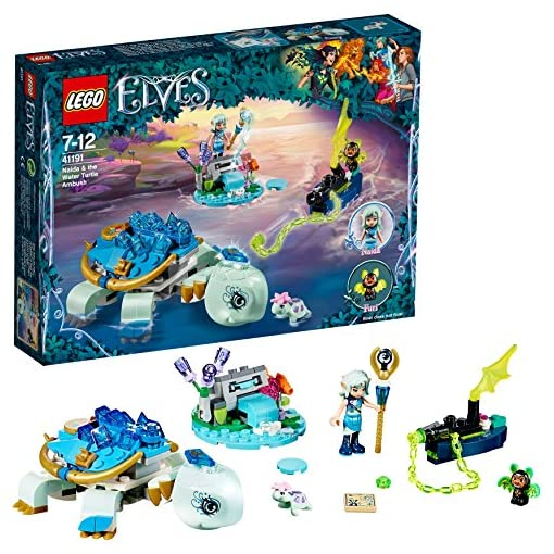 Lego-Elves-Naida-lAgguato-della-Tartaruga-Acquatica-41191