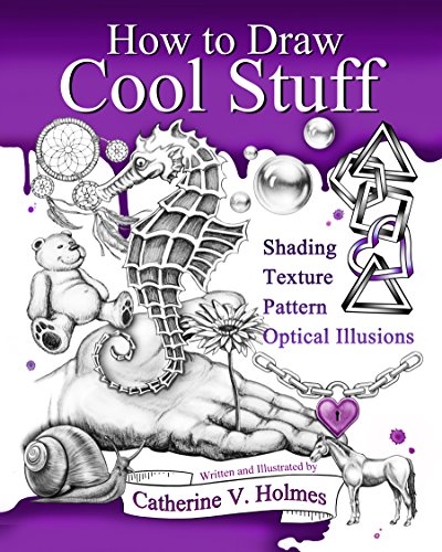 how-to-draw-cool-stuff-shading-textures-and-optical-illusions-english-edition