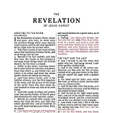 KJV, Thinline Bible, Standard Print, Imitation Leather, Brown, Indexed, Red Letter Edition, Comfort Print - 4