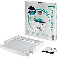 Wpro SKS 101 Kit de Superposition avec tiroir, Blanc