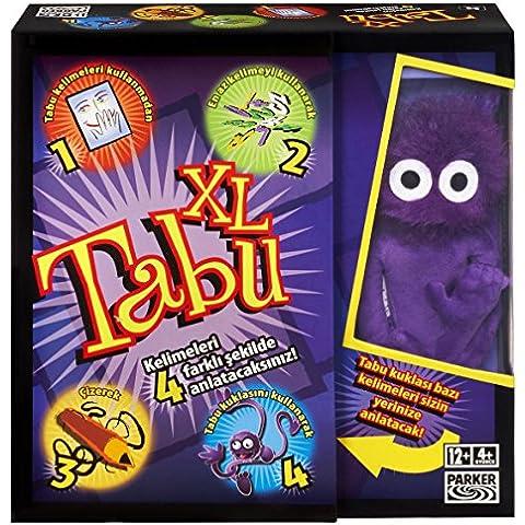 Hasbro 04199131 - Tabu XXL juego, versión turca