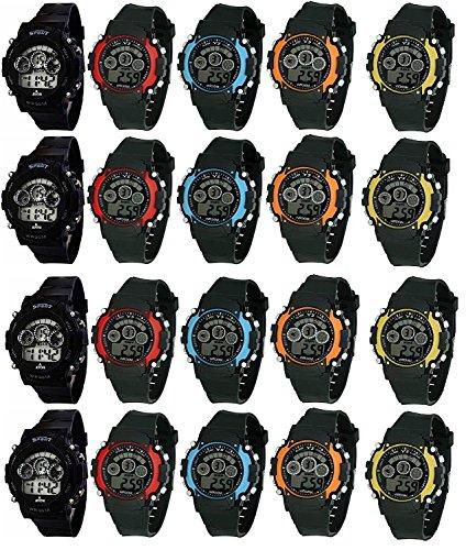 ROYALS Combo Of 12 Sports Digital Kid's Watch (Wristwatch12)