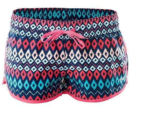 AquaWave Shorts Badeshorts Für Damen - Atmungsaktiv - Ultraleicht - Schnelltrocknend - perfekt für Sport und Freizeit - Raisa, Koralle, M