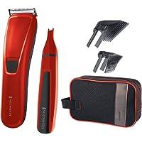 Remington Haarschneider-Geschenkset PrecisionCut HC5302, inkl. Nasen- und Ohrenhaarschneider, rot