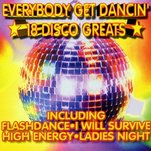 Everybody Get Dancing-18great - Dvd Disco-dancing