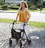 Taima M Faltbarer Leichtgewichtrollator inkl. Tasche und Stockhalterung, nur 6,5 kg
