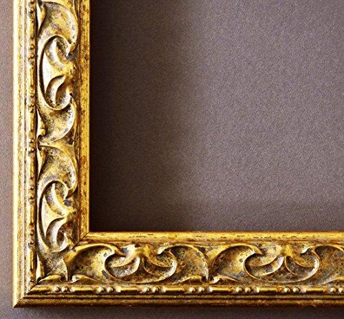 Bilderrahmen Mantova Gold 3,1 - WRU - 20 x 30 cm - 500 Varianten - alle Größen - handgefertigt -...