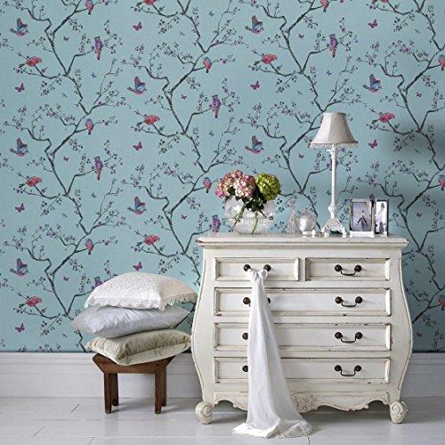 fresco-great-value-mai-bird-nature-print-soft-blue-wallpaper-100045