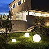 Kugelleuchte Kugellampe aussen garten Leuchtkugel Gartenlampe 30, 45, 60 cm Lichtkugel (Ø 60 cm)