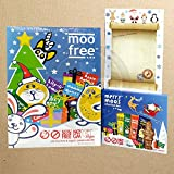 Moo Free Christmas Collection, Advent Calendar Dairy Free,...