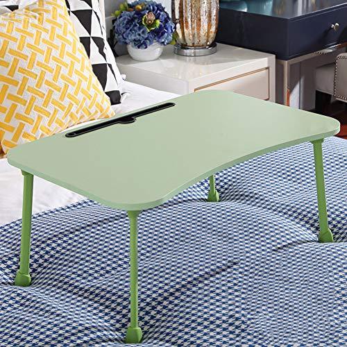 JiaQi Laptop-Tisch Für Bett,Portable Bett Schreibtisch,tilt Top Zum Essen Frühstück Buch Arbeiten Film Auf Bett Computer Schreibtisch-a - Bett-tisch Tilt