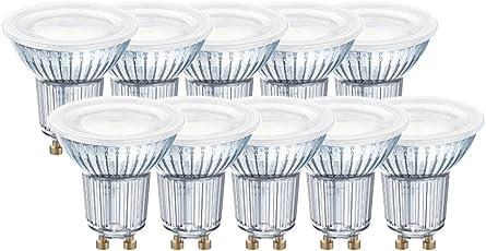 Osram LED-Reflektorlampe  Warm White (2700 K)   Sockel GU10  ersetzt Reflektorlampen mit 80 W   6,90 W   LED STAR PAR16