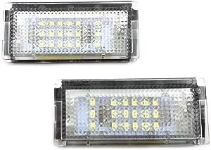 Gzcrdz 6000 Karat Weiß 18 Led Kennzeichenbeleuchtung Lampen Montage Set Für Auto 3 Serie E46 4d 1998 2003 Auto