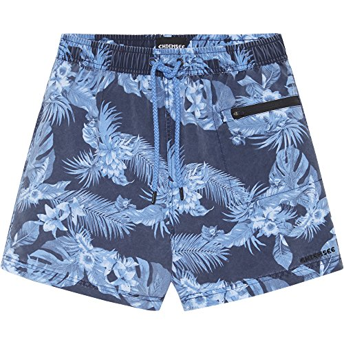 Chiemsee Herren Swimshorts, beachbreak blu, L