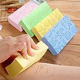 Flyoro® Ultra Soft Exfoliating Sponge | Asian Bath Sponge For Shower | Japanese Spa Cellulite Massager | Dead Skin Remover Sp