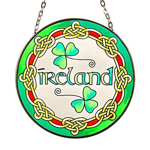 Eburya Ireland - Keltisches Fensterbild aus Glas