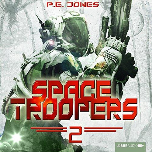 Buchseite und Rezensionen zu 'Krieger (Space Troopers 2)' von P. E. Jones