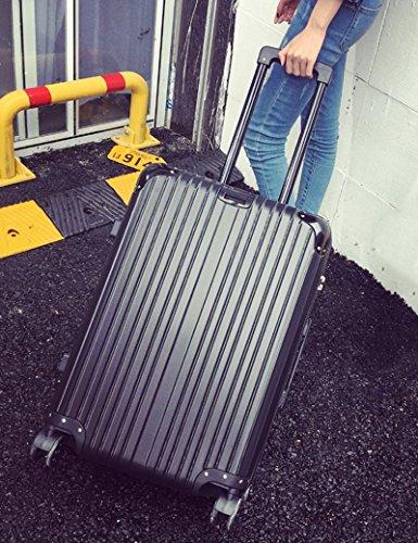 360 ° 4 Runden Drehen Koffer Einstieg Box Trolley Taschen Mode Gepäck Box ( Farbe : 2 , größe : 20 inch ) 2
