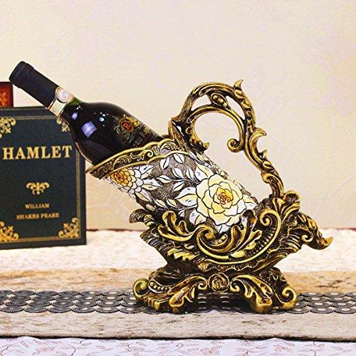 GONGFF Europäische Neue Produkt Kreative Weinregal Hotel Dekoration, Chateau Display Amerikanischen Stil Harz Handwerk (Chateau Neo)