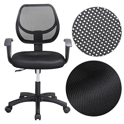 Yaheetech Bürostuhl Sportsitz Chefsessel Schreibtischstuhl Drehstuhl Stuhl Schalensitz