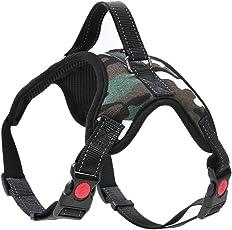 Zibuyu Pet Dog Soft Adjustable Harness Pet Walk Out Hand Strap Vest Collar