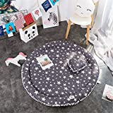 jysport Baby parte techo parte hojas Activity Gym Gateo Animal Plush Juguetes Matte, blanco / negro