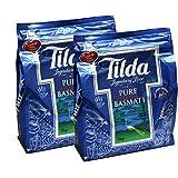 Tilda Pure Original Langkorn Basmati Reis 10kg (abgepackt in 2x5kg)
