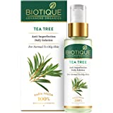 Biotique Tea Tree Anti-Imperfection Daily Solution Face Serum for Normal to Oily Skin, 30ml