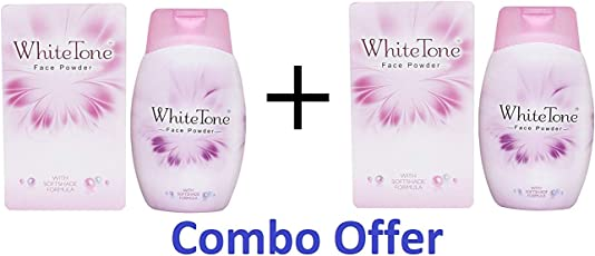 White Tone Face Powder 50gm (pack of 2)