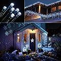 Qedertek Solar String Lights 200 LED