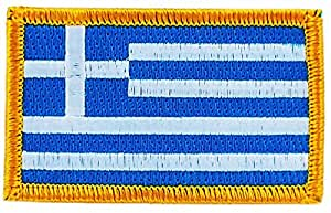 Patch écusson brodé drapeau anguilla thermocollant insigne blason backpack