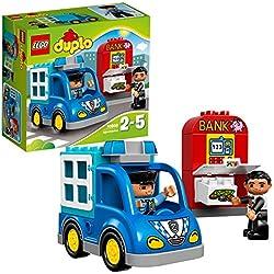 LEGO DUPLO - La patrouille de police - 10809 - Jeu de Construction