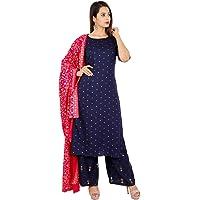 sunrise paridhan Women's Viscose Salwar Suit.
