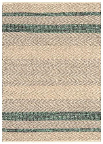 MODERNER Designer Teppich ISAR, smaragd grün, 120 X 170 cm -