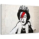 Giallobus - Giallopanel Art Board - Banksy - Koningin - MDF-hout - 29,7X21