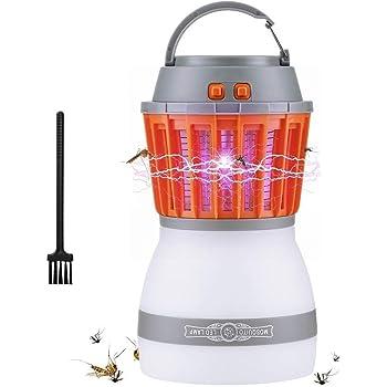 AUSHEN Anti moustiques Electrique Recharge Lampe LED portative 2 en 1  moustiques Lampe Zapper Mosquito imperméable Tueur de moustiques Anti  moustiques ... 4ff73db94325