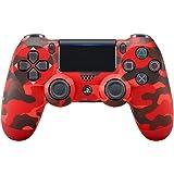 Sony Manette PlayStation 4 officielle, DUALSHOCK 4, Sans fil, Batterie rechargeable, Bluetooth, Red Camo (Rouge…