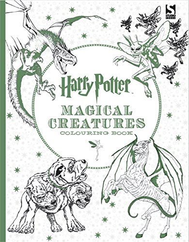 Harry Potter Coloring Book. Magical Creatures