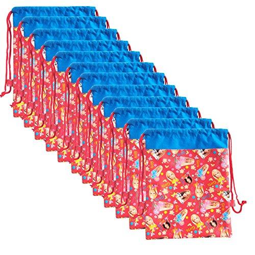 Asera 12 Pcs Barbie Dori Bag Haversack Gift Bags For Birthday Return Gifts Kids