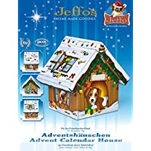 Jeffo Adventshäuschen Bio - Adventskalender für Hunde (1 x 110g)