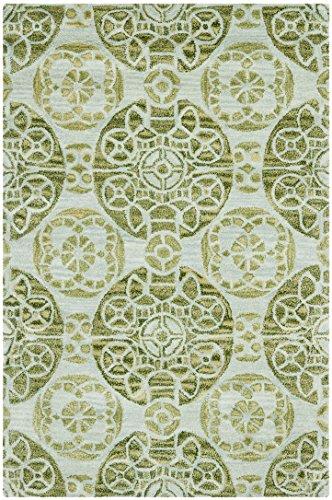 Safavieh Mali handgetufteter Teppich, WYD376K, Türkis, 121 X 182  cm