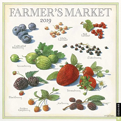 Farmer's Market 2019 Calendar