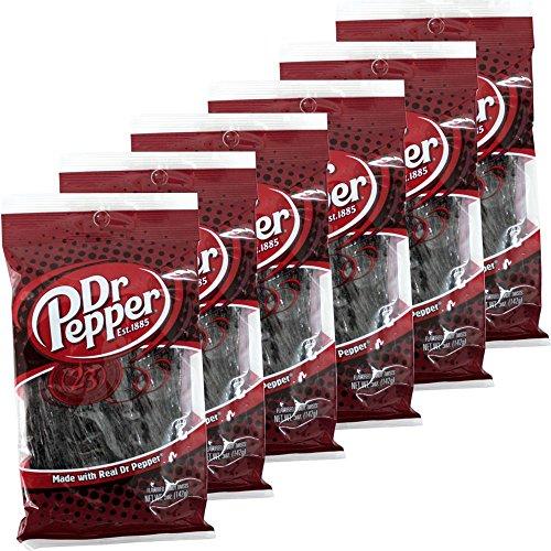 Dr. Pepper Candy Twist 6 x 142g Beutel (Fruchtgummi)