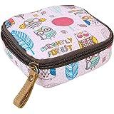 Bigboba, Pochette impermeabile con cerniera, grande capacità, per monete, tovaglioli igienici, asciugamani e cosmetici, (12 x