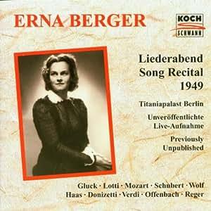 Liederabend (Aufnahme Live Titaniapalast Berlin 1949)