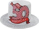 Sombrero de fiesta de cumpleaños, 50años, 1 unidad, fiesta decoración vela
