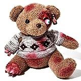 Zombie Teddy Original XXL die Halloween Teddybär Undead-Teds Evolution für Alle Splatter & Horror Fans; Amputationen