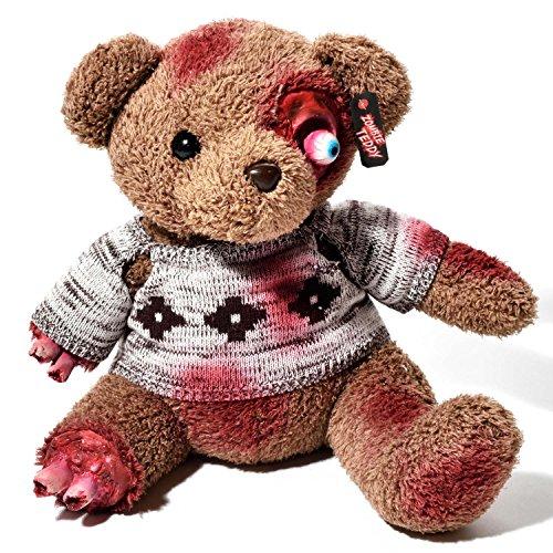 Teddy Kostüm Bär Damen - Zombie Teddy Original XXL die Halloween Teddybär Undead-Teds Evolution für alle Splatter & Horror Fans; Amputationen