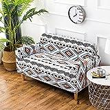iShine Sofa Überwürfe Sofabezug mit Stretch Elastische Sofabezug Slipcover Sofa Abdeckung in verschiedene Größe und Farbe-A-190x230cm